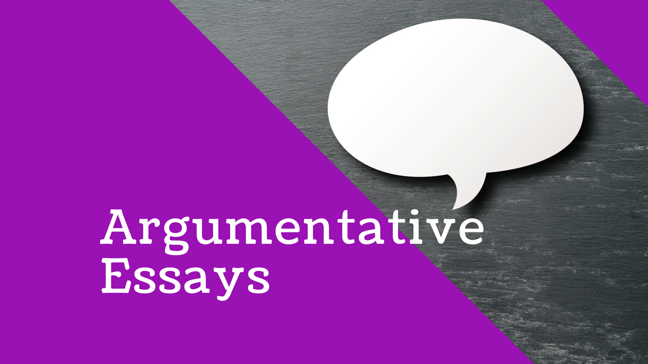 English: How to write Argumentative Essays