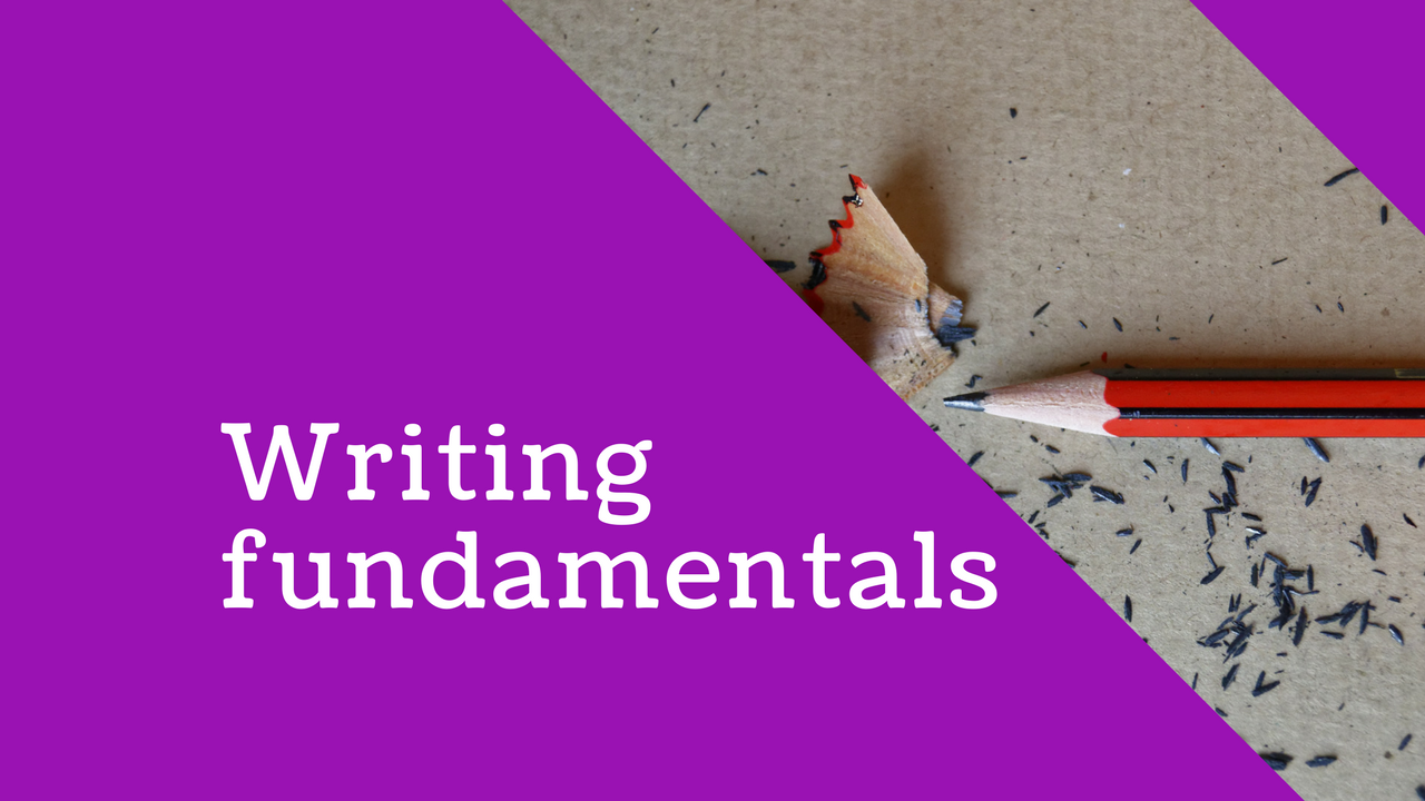 English Language: Writing fundamentals