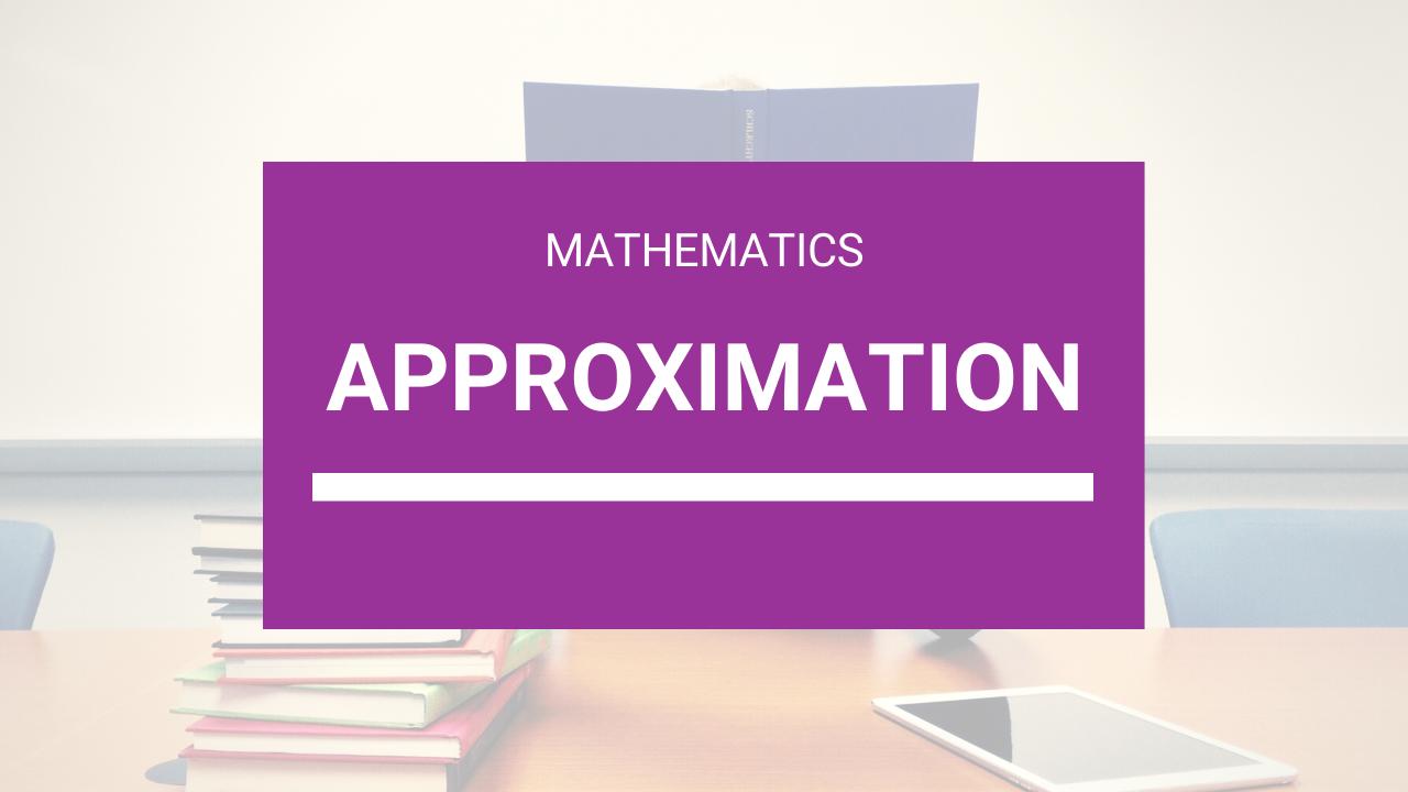 CXC Classes + SEA Classes Online - Approximation