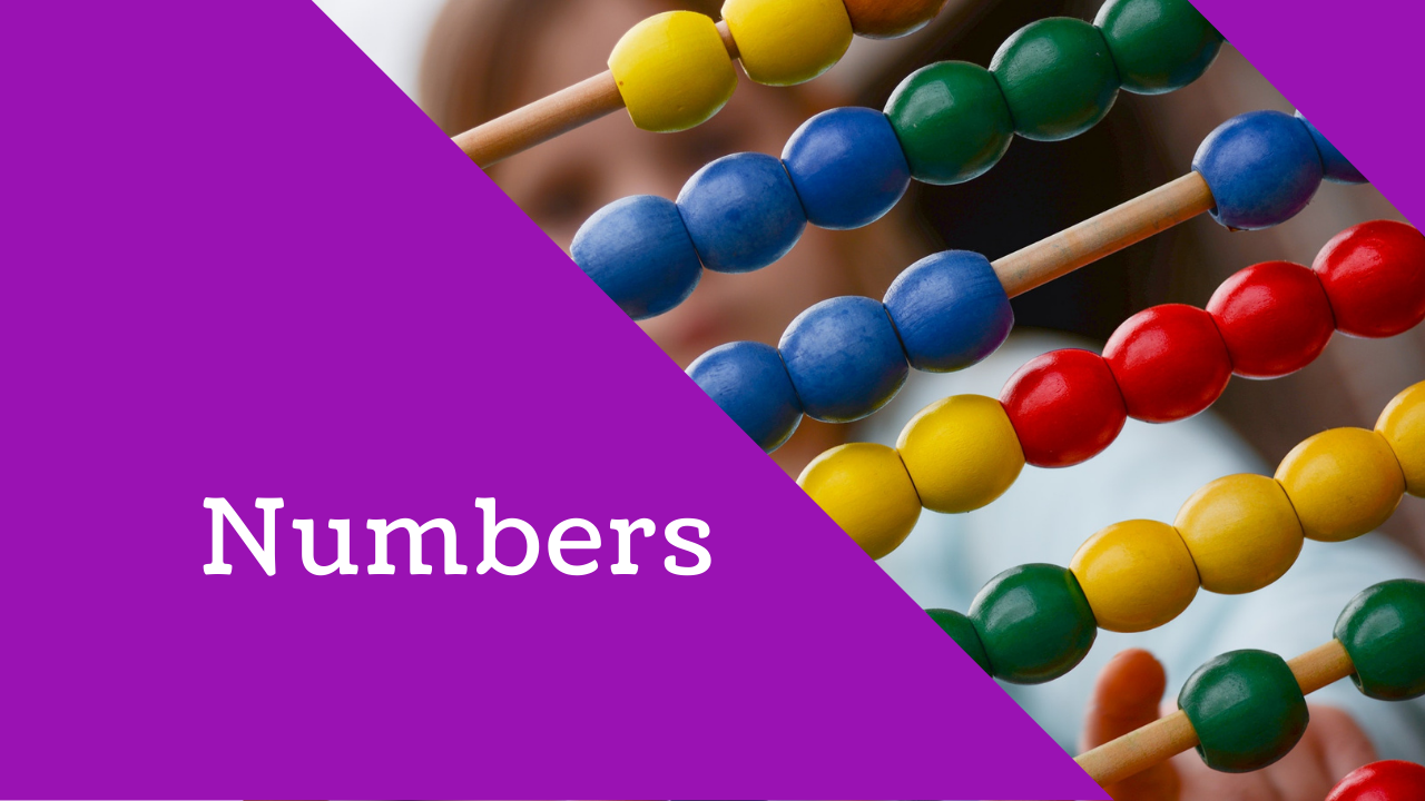 Primary Math: Numbers