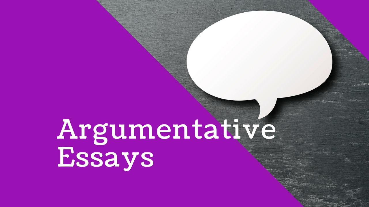 English: How to write Argumentative Essays