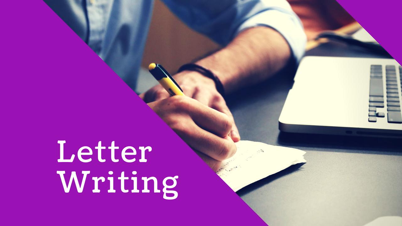 English Creative Writing: Letter Writing