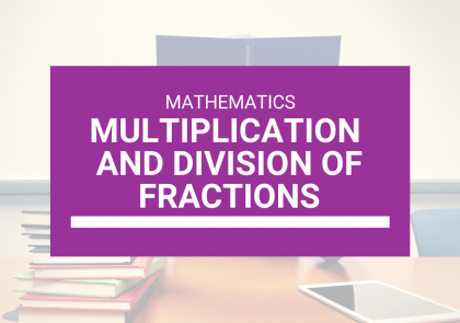 SEA Classes + CXC Classes Online - Multiplication and Division of Fractions