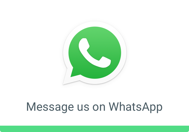 WhatsApp calls/texts welcome!